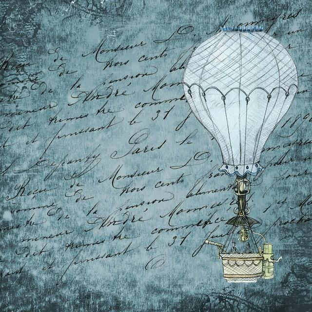montgolfièr steampunk