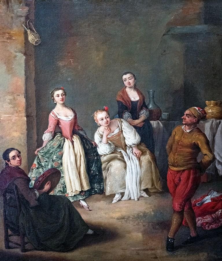 Pietro Longhi, La Furlana, 1750. Danse baroque, 18e siècle, danse ancienne