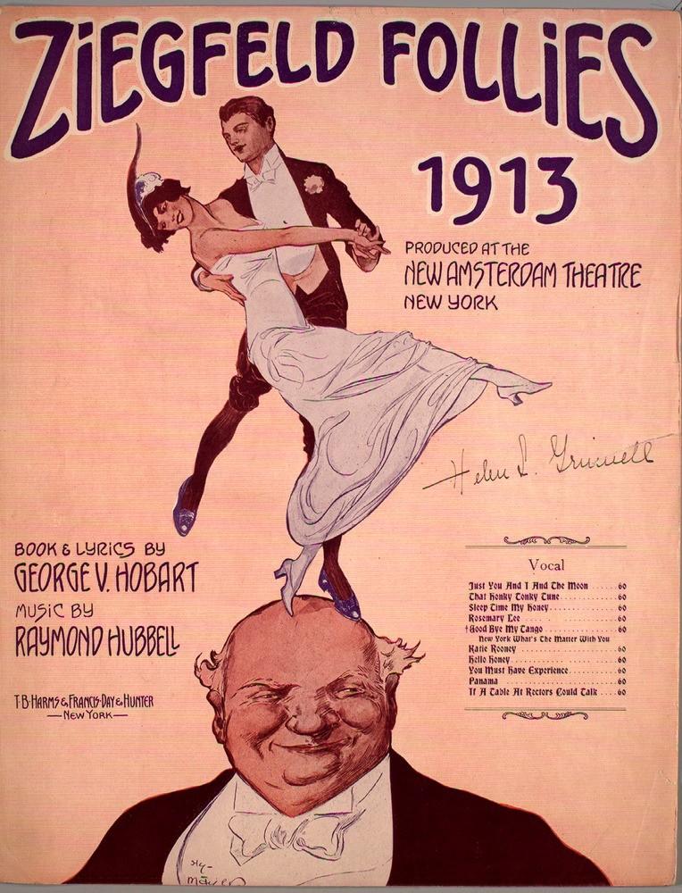 """Tango """"good-bye my tango"""", 1913, ragtime, danse, 1910s, belle époque, danse historique"""