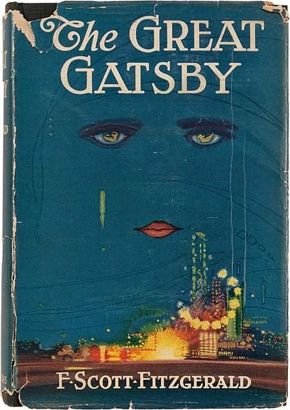Couverture de Gastby le Magnifique, 1e édition (1925). Danse, chareston