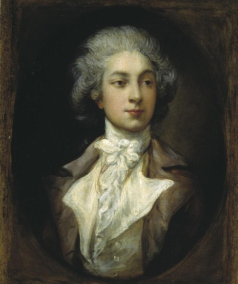 Thomas Gainsborough, Portrait d'Auguste Vestris, 1781-1782. Danseur baroque, menuet